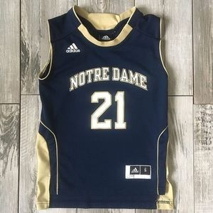 Adidas Notre Dame No 21 Youth Jersey